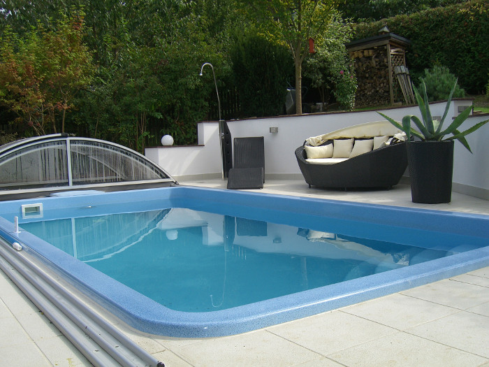 swimmingpool fur garten – godsriddle, Terrassen ideen
