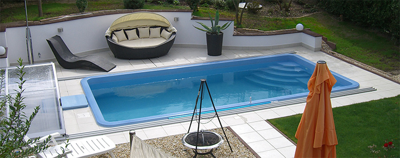 Swimmingpool for Garten pool tiefe