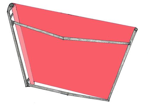 berdachung mit markisen. Black Bedroom Furniture Sets. Home Design Ideas