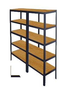 regalsysteme f r kellerr ume. Black Bedroom Furniture Sets. Home Design Ideas